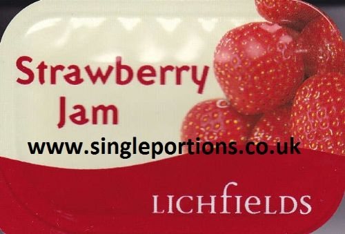 Lichfields - Strawberry Jam - single portions